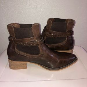 Brown faux leather Maurices Boots